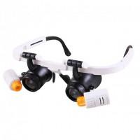 Бинокулярные очки с LED подсветкой 9892RD