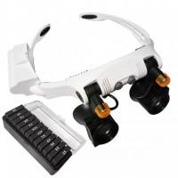 Очки бинокулярные с светодиодной подсветкой 32225 - 21SX