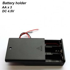 Держатель, Box для аккумуляторов AA