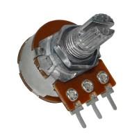 Резистор переменный 200 кОм с выключателем S16KN1-B 200K