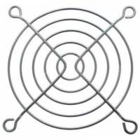 Решетка для вентилятора металлическая, никелированная