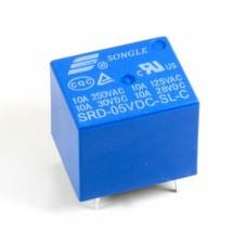 SRD-05VDC-SL-C, реле 10А, 5V