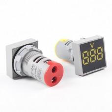 Панельный Вольтметр AC 12-500В  29мм