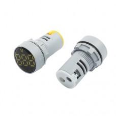 Панельный вольтметр AC 60-500V  22мм