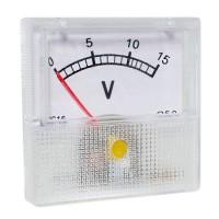 Вольтметр стрелочный 91C16 шкала 0-15V