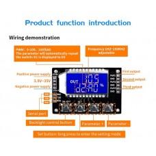 VHM-900 трехканальный генератор сигналов 3Гц-150кГц