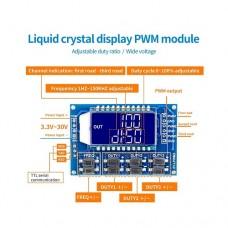 XY-LPWM трехканальный генератор сигналов 3 Гц-150