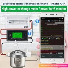 Ваттметр Atorch AT3010, AC 50-320В, 100А, Bluetooth