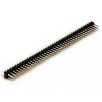 PLD-80 Разъем штыревой 2.54мм двухрядный прямой 2х40 pin ZL202-80G