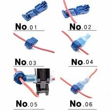 Разъемы для быстрого сращивания проводов