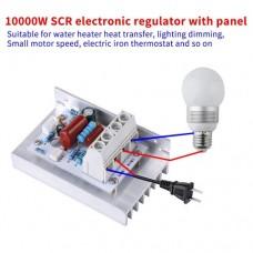 SCR Регулятор напряжения диммер 10000 Вт 220 В