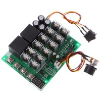 PWM Регулятор ШИМ 60А 10V-55VDC (До 80А)