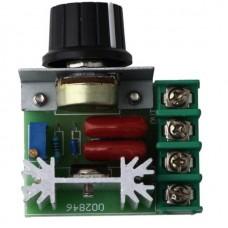 SCR Регулятор напряжения диммер 2000 Вт 220 В