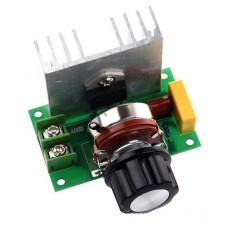 SCR Регулятор напряжения диммер 4000 Вт 220 В