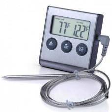Термометр с выносным щупом + таймер Kitchen TP-700, для мяса, с магнитом и сигнализатором