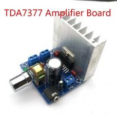 Усилитель мощности аудио 2*35W на TDA7377