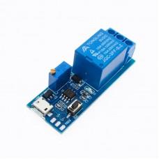 Модуль реле 5-30V с задержкой выключения 0-24 секунд (XY-018)