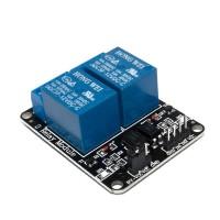 Модуль 2 реле 5V с опторазвязкой для ARDUINO