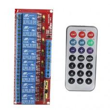 Пульт управления ИК реле 8 каналов