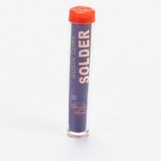 Припой в колбе с канифолью Rosin Core Solder 1.0 мм/14г